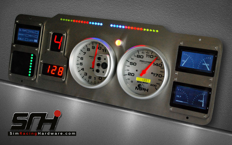 Custom Build Dashboards - Sim Racing HardwareSim Racing Hardware