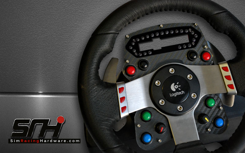 logitech g27 pro race wheel plate kit sim racing hardwaresim racing hardware. Black Bedroom Furniture Sets. Home Design Ideas