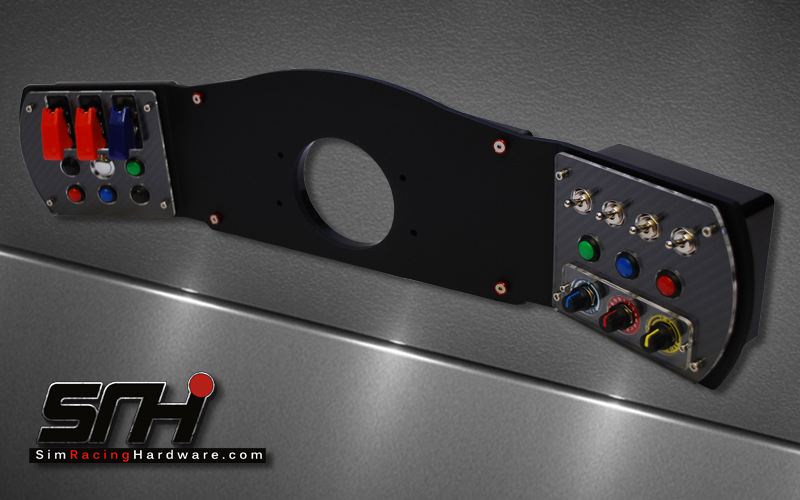 accuforce dashboard fits both v1 and v2 sim racing. Black Bedroom Furniture Sets. Home Design Ideas